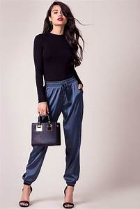Best 25+ Satin joggers ideas on Pinterest | Outfit with joggers Cool trainers and All white ...