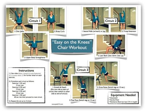 8 best images of printable senior chair exercises senior