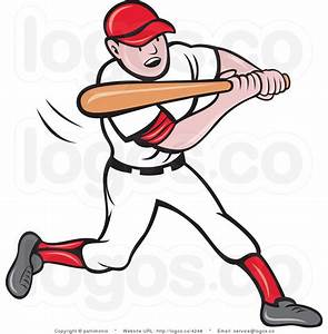 baseball-player-logo-by- | Clipart Panda - Free Clipart Images