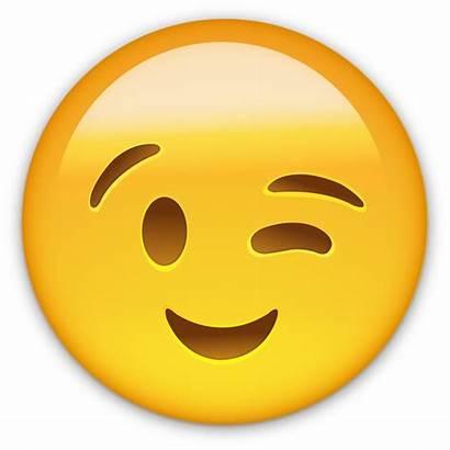 Emoji Smile Wink Smiley Whatsapp Emoticon Transparent