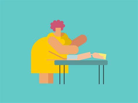 Massage Loop #3 by Eran Mendel - Dribbble