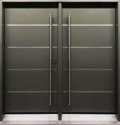 Modern Double Front Entry Doors