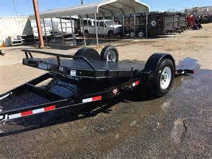 Single Axle Car Hauler Trailer