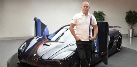 koenigsegg founder buys tesla model     fun