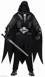 Evil Dark Knight Undertaker Medieval Gothic Black Scary