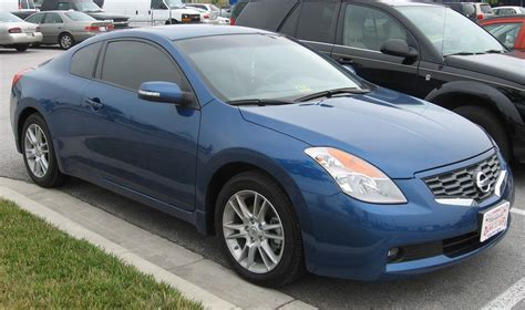 2008 Nissan Altima by File 2008 Nissan Altima Coupe Front Jpg