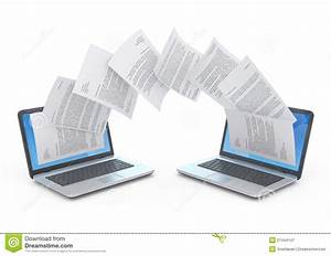 files transfer stock illustration illustration of white With documents hd images