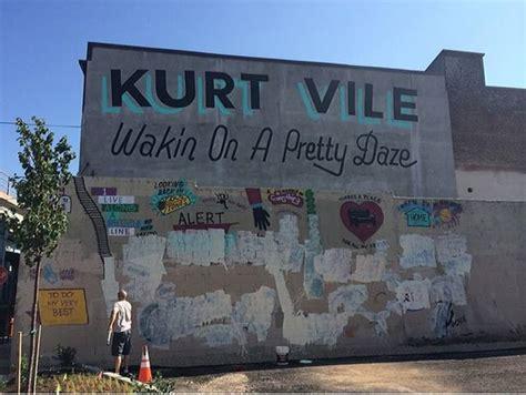 Kurt Vile Mural Philadelphia by Some Painted Over The Kurt Vile Mural Noisey
