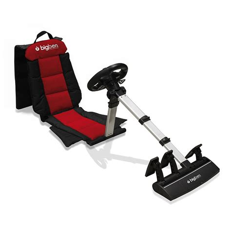 siege volant ps4 bigben racing seat ps3 ps2 pc volant pc bigben