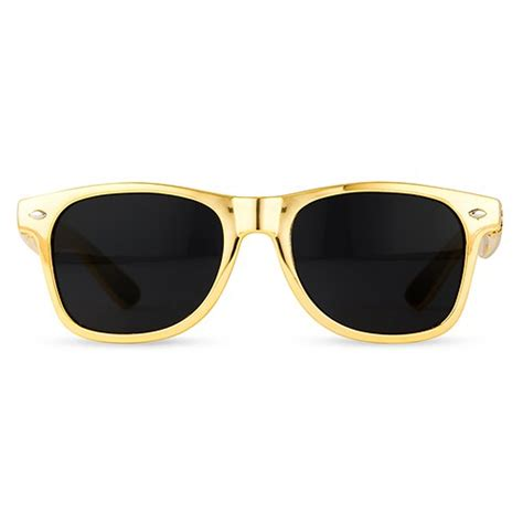 cool l shades for sale custom sunglasses personalized metallic gold sunglasses
