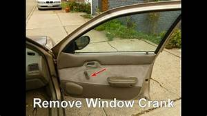 How To Replace Front Door Speakers In A Geo Prizm Or Toyota Corolla