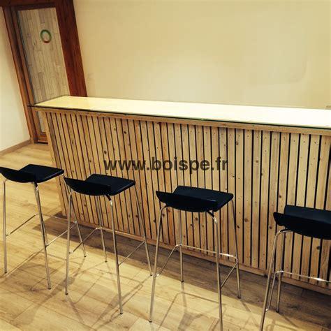 fabriquer bureau bois fabriquer un bar très design à partir du mécano mob