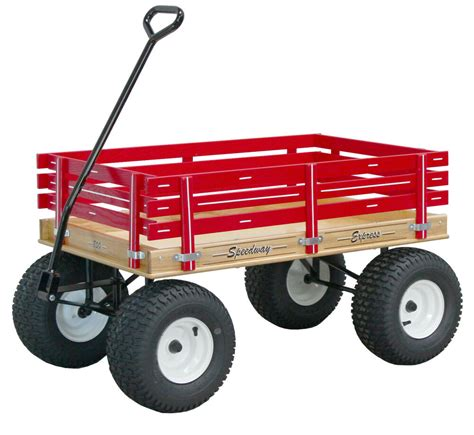 amish beach garden wagon   wide  road tires