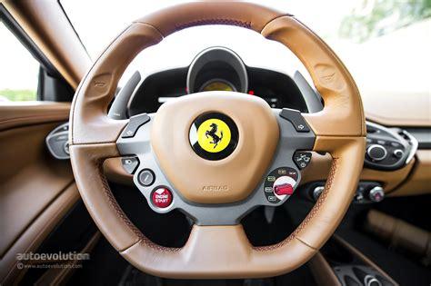 ferrari steering wheel ferrari developing new steering technology for perfect