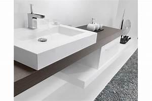 stunning hauteur meuble salle de bain avec vasque posee With salle de bain design avec vasque posée