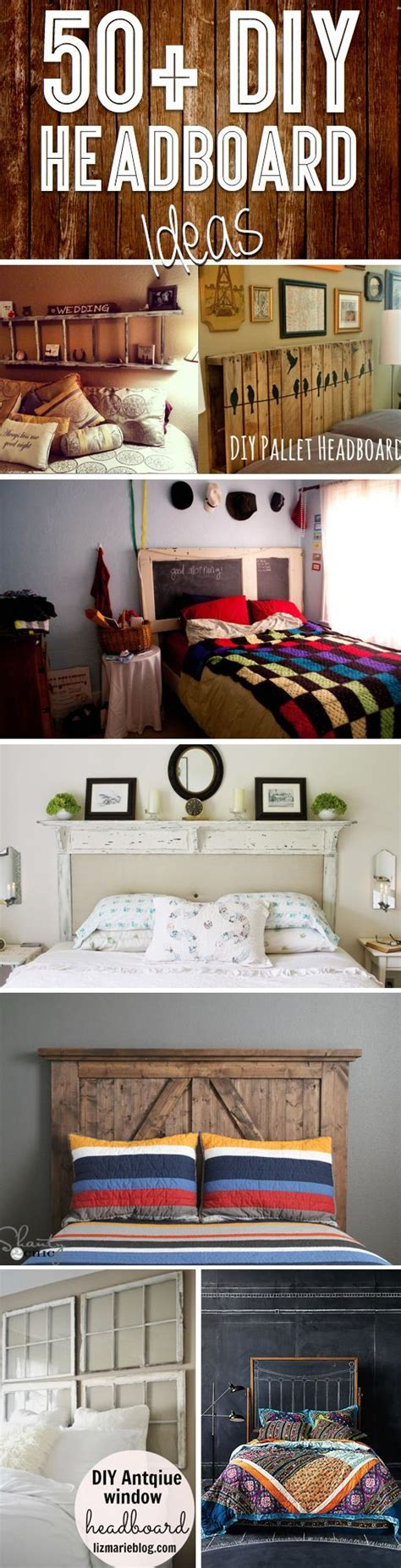 How To Spice Up The Bedroom For Your by 50 Outstanding Diy Headboard Ideas To Spice Up Your