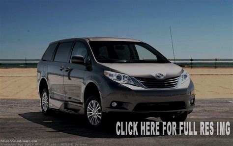 toyota sienna hybrid redesign release date pictures  auto suv