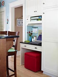 Modern furniture modern home office 2013 ideas storage for Home office in kitchen
