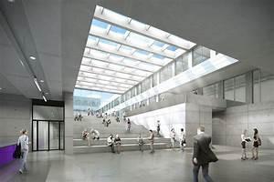Fh Düsseldorf Innenarchitektur : fhd fh d sseldorf atrium foyer beleuchtung lichteinfall sonnenblenden licht hochschule ~ Markanthonyermac.com Haus und Dekorationen