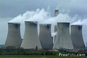 Why Do Nuclear Power Plants Have Such Wide Chimneys