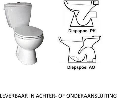 toilet ao of pk duoblok vm murcia staand compleet vmk049301 nodig