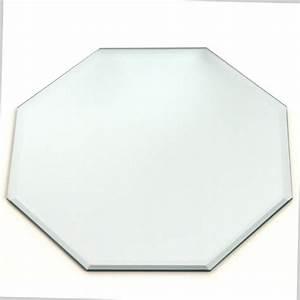 Plateau Pour Bougie : plateau pour bougie octogonal miroir 20cm argent ~ Teatrodelosmanantiales.com Idées de Décoration