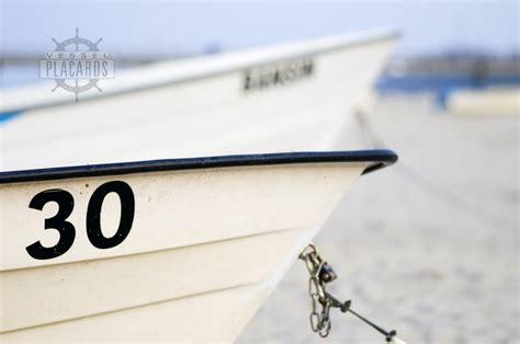 Paint Boat Registration Number by Registration Number For Your Boating Needs Vessel Placards