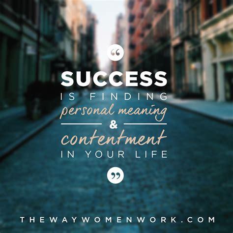 Define Your Own Success | The Way Women Work