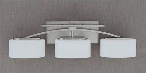 bathroom vanity light fixtures menards santa collection 3 light 25 5 quot polished chrome bath
