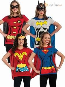 Details about Superhero Ladies T Shirt & Cape Hen Night ...