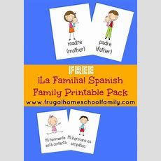 1000+ Ideas About Spanish Worksheets Family On Pinterest  Spanish Worksheets, Spanish And