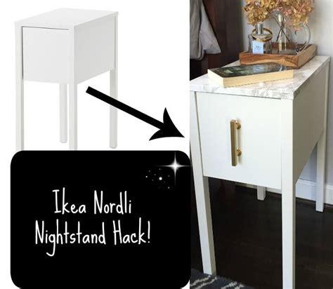 Ikea Nordli Nightstand by Nordli Hack Ikea Hack Nightstands And Small Spaces