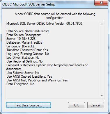 baixar grátis do driver odbc sql server 2016