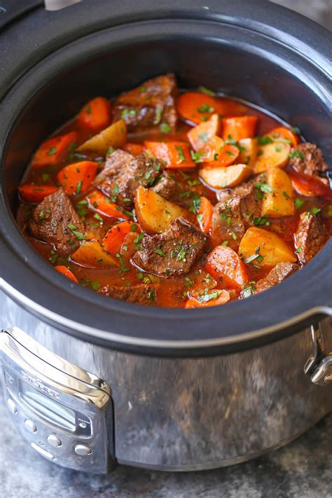 slow stew beef cooker recipes recipe crockpot delicious cook damn cooking pot crock chicken damndelicious meat easy tender soup dinner