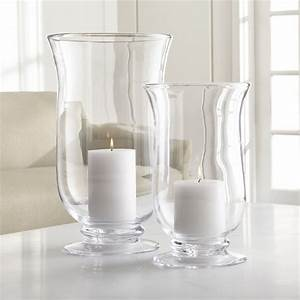 barlow hurricane candle holders crate and barrel With kitchen cabinets lowes with tall glass votive candle holders