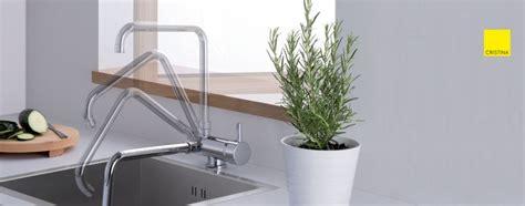robinet cuisine rabattable mitigeur sous fenêtre pour évier de cuisine cristina