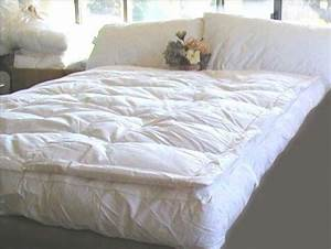 lowest price best sale marrikas pillow top goose down With best down featherbed