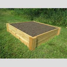 4x4 Cedar Garden Raised Bed