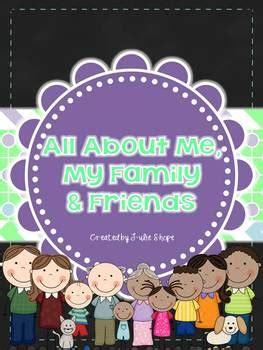 family  friends unit  julie shope tpt
