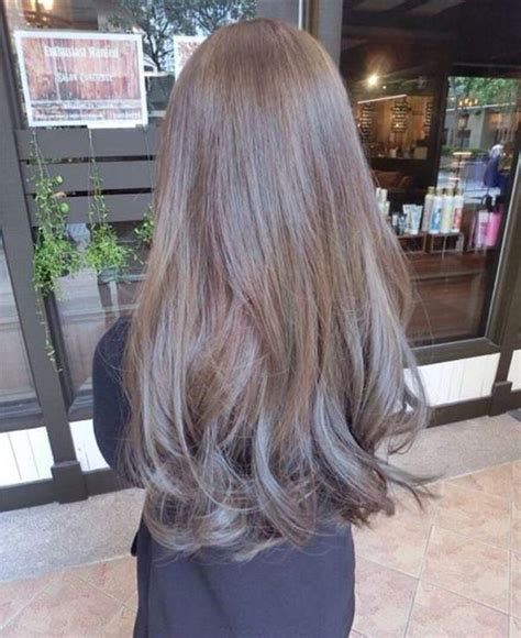varieties  ash brown hair    touch