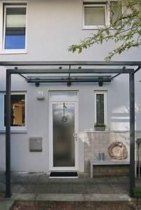 Vordach Hauseingang Modern : modernes vordach aus glas und stahl ~ Michelbontemps.com Haus und Dekorationen