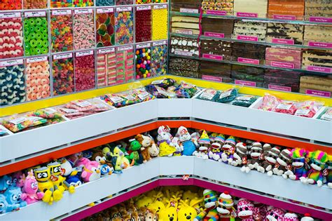What I Think Working in a Candy Store Will Be Like, Before