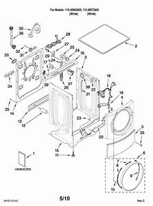 Kenmore Elite He4 Washer Parts