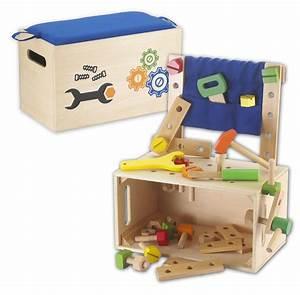 Werkbank Aus Holz : kids toy werkbank werkzeugbank werkzeugkiste werkzeuge aus holz ebay ~ Markanthonyermac.com Haus und Dekorationen