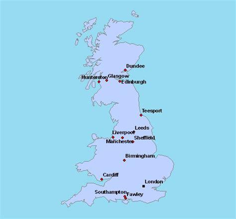Carte Du Royaume Uni Sans Les Villes by Carte D Angleterre Avec Villes 187 Vacances Arts Guides