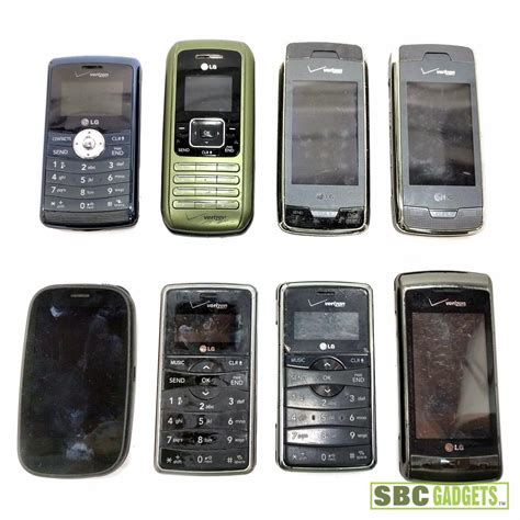 palm mobile phones mixed lot of 8 smartphones cell phones lg palm pre