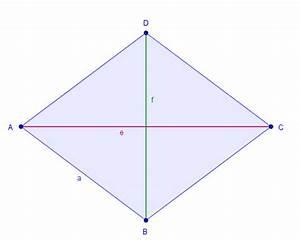 Raute Flächeninhalt Berechnen : fl cheninhalt mit diagonalen ~ Themetempest.com Abrechnung