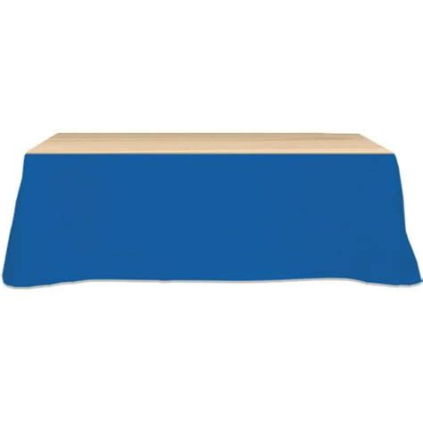 trade show table skirts table skirt three sides 8 foot trade show giveaways