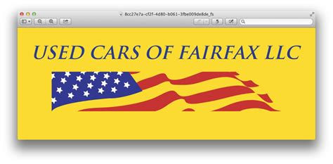 cars  fairfax llc woodbridge va read consumer