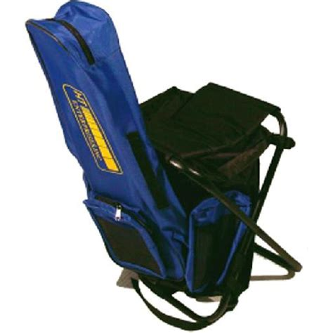 Folding Chair Backpack h t enterprises sit pack folding backpack chair 189255